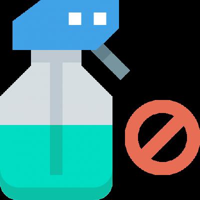 pesticide free icon