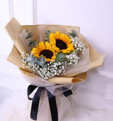 2 Sunflower Bouquet