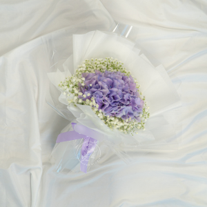 Forever Young - Purple Hydrangea Bouquet