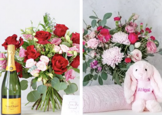 flower addict arrangement