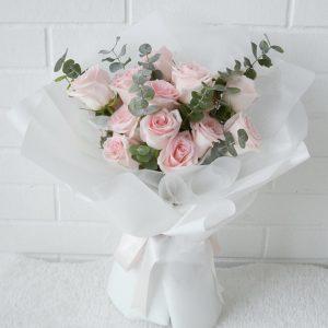 You & Me – Kenya Rose Bouquet 12 pink