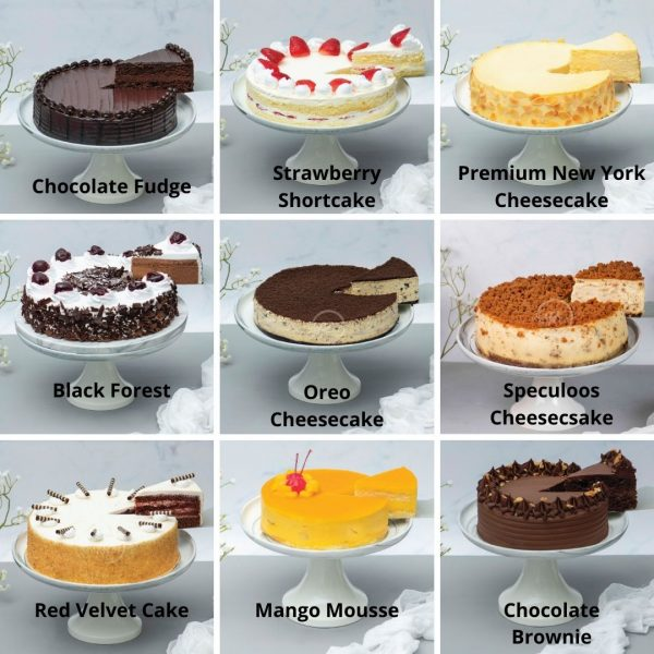 8 Inch cake options