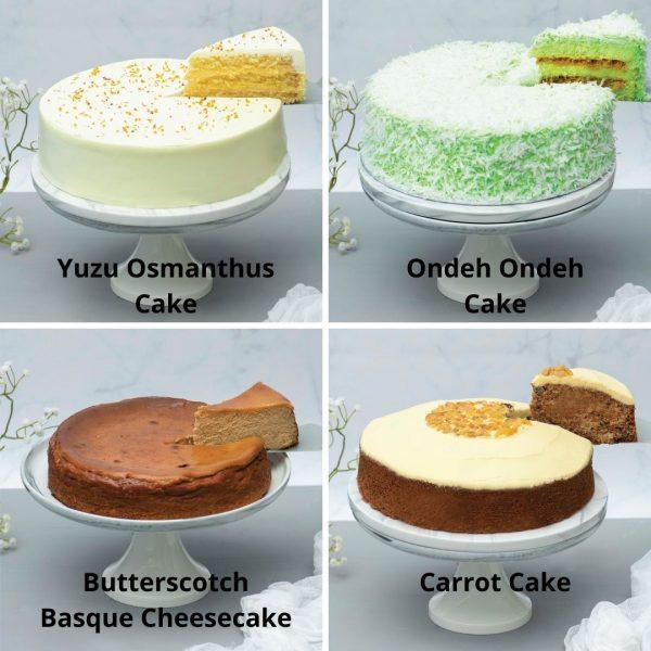 9 inch cake bundle