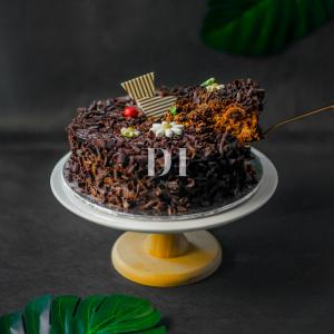 Chocolate Truffle Cake Slice