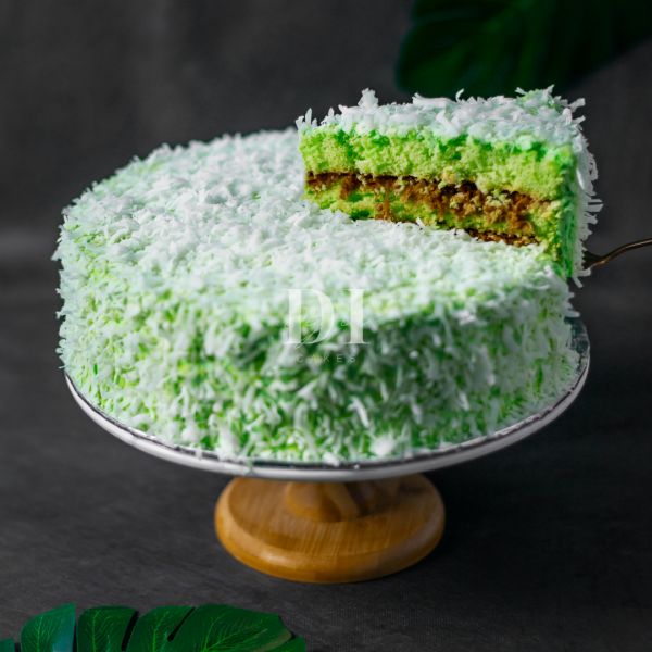 Ondeh Ondeh Cake Slice