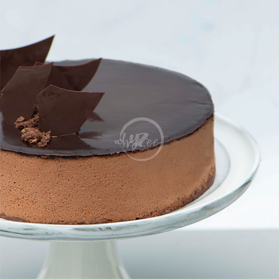 chocolate desire cake side