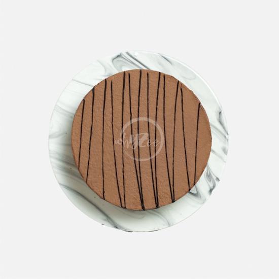 chocolate truffle cake top