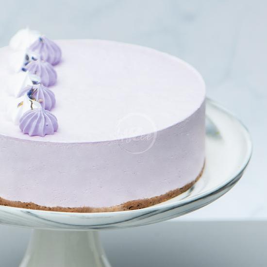 earl grey lavender cake side