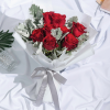 i adore you - 8 red rose bouquet