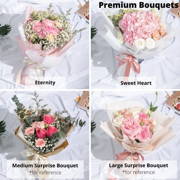 premium bouquet option