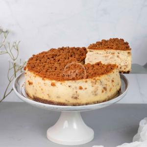 speculoos cake slice