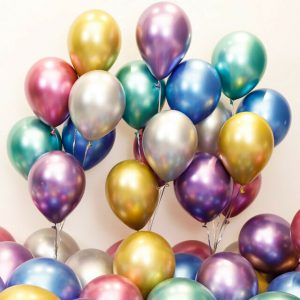 Chrome Latex Balloons Bundle