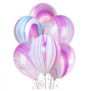 Marble Latex Balloons