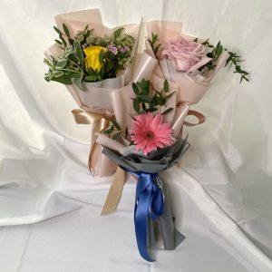 Mini surprise bloom bouquet