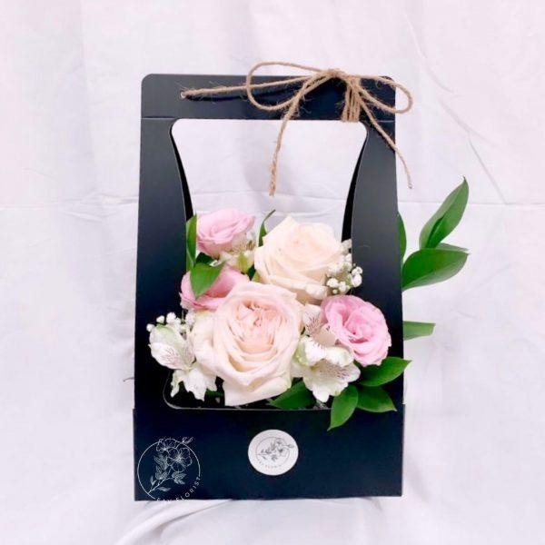 Cheerful - O'hara rose and rose spray box