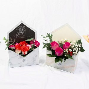 Surprise Marble Envelope Box
