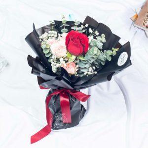 Adoring Touch - Valentine's Day Single Stalk Bouquet