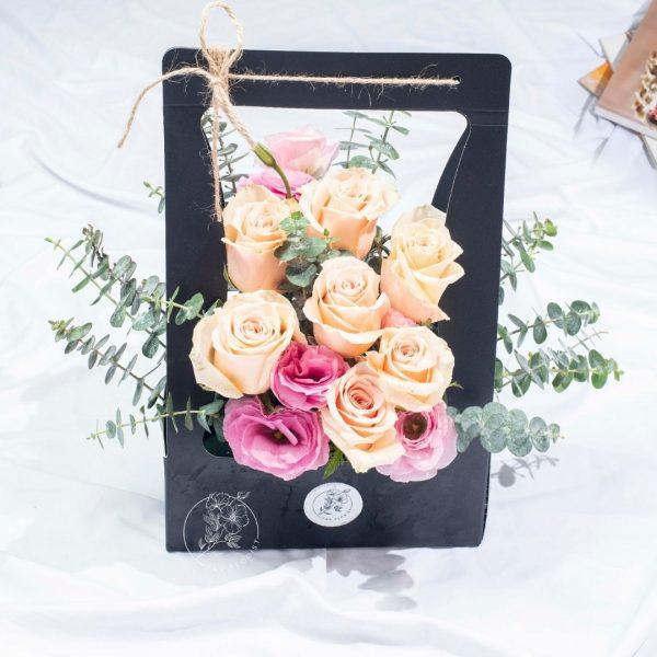 Beloved - Bronze Kenya Rose Box