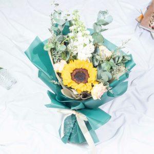 Limelight - Valentine's Day Sunflower Bouquet