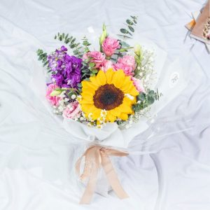 Oh My Darling - Mixed Sunflower Bouquet