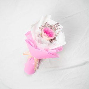 Surprise Single Stalk Pink Rose