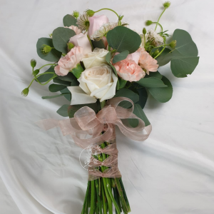 Everlasting Wedding Hand Bouquet - Rose and Carnation