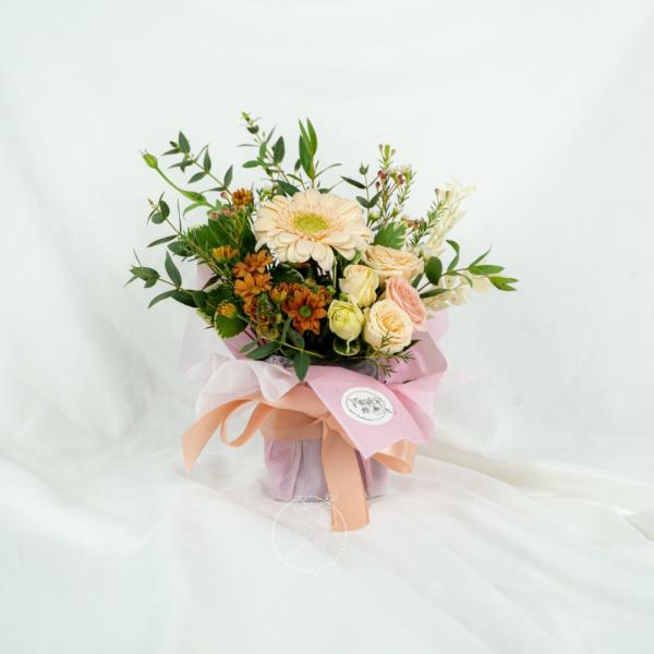 Poets Garden - Gerbera Bouquet Table Arrangement