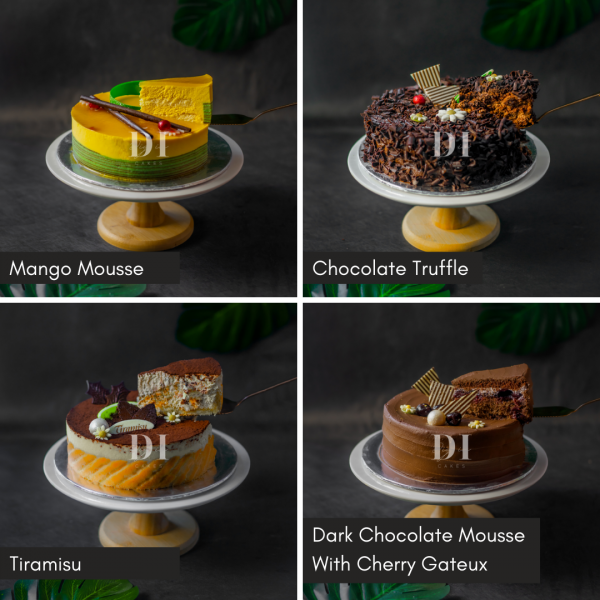 6 Inch Cake Bundle - 1