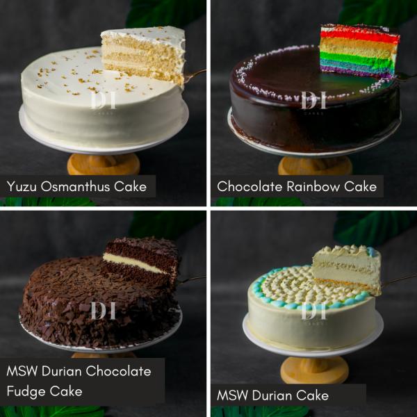 9.5 Inch Premium Cake Bundle