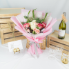 Amour – Kenya Rose and Rose Spray Bouquet
