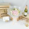 Aurelie – Mixed Hydrangea and Carnation Bouquet