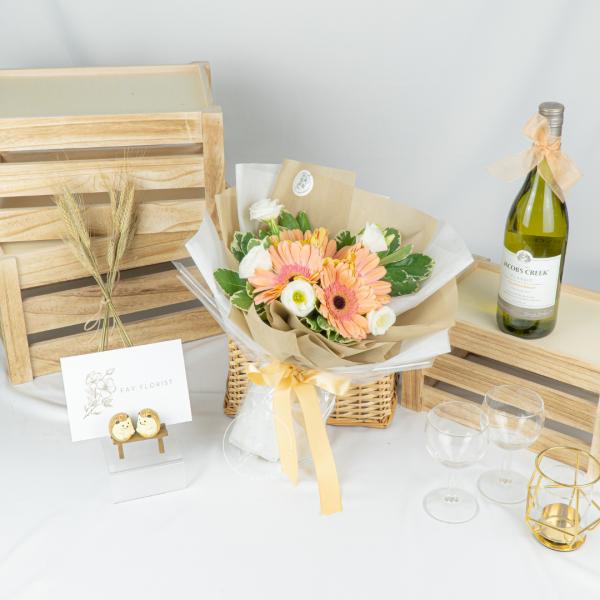 Bloom Room – Gerbera & Eustoma Bouquet