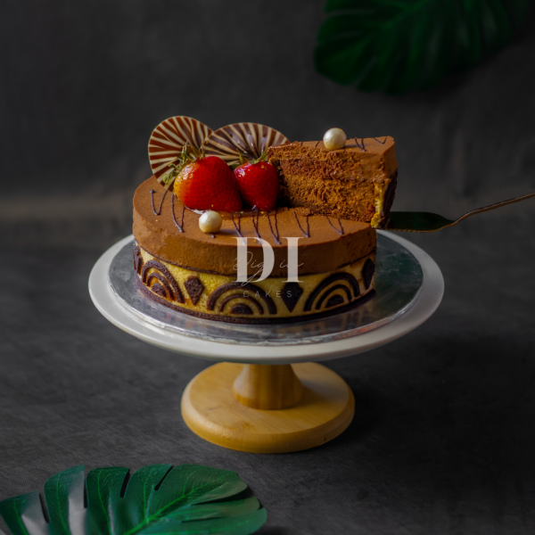 Chocolate Royaltine Cake Slice