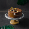 Dark Chocolate Mousse with Cherry Gâteaux Cake