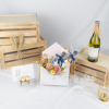 Father's Day Special – Rose & Eustoma Marble Envelope Hamper
