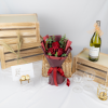 First Love – 3 Red Kenya Roses Bouquet
