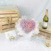 Heart Shaped Galaxy - Baby's Breath Bouquet