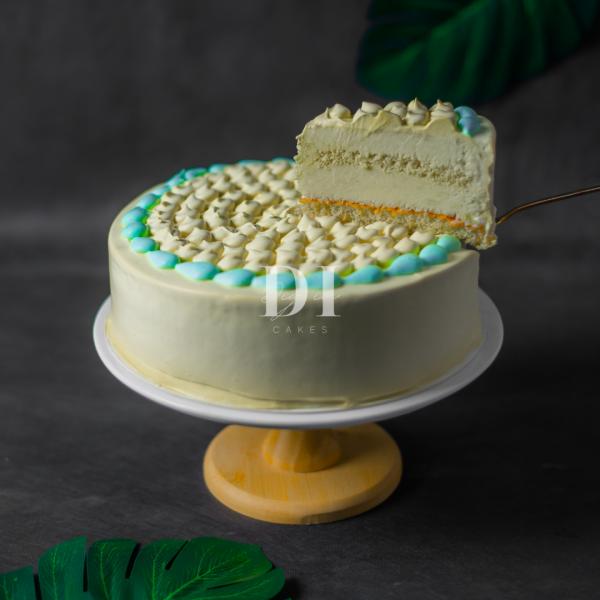 Mao Shan Wang Durian Cake Slice