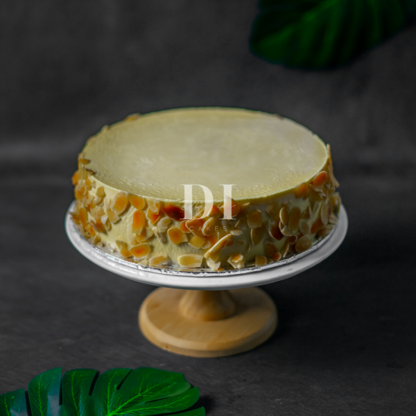 New York Almond Cheesecake