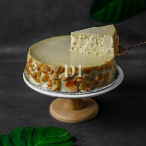 New York Almond Cheesecake Slice