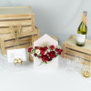 Casanova – Kenya Red Rose and Rose Spray Flower Envelope
