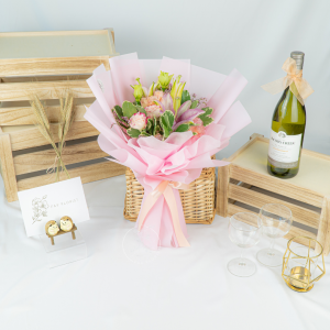 Daydreams - Lily & Eustoma Bouquet