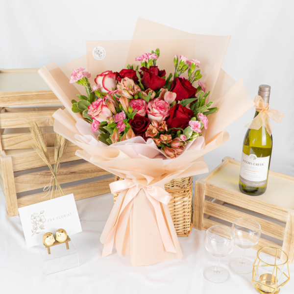 Rose Radiance - XL Kenya Rose Bouquet
